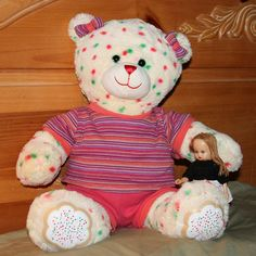 Making clothes for Build-a-Bear teddies?