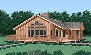 Contemporary House Plan chp-24191 at COOLhouseplans.com