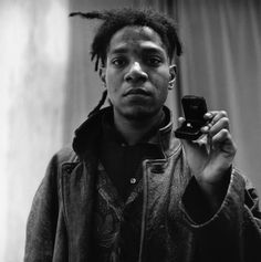 Basquiat - Corbis - XX Century in Black and White Photos BBC - @artnau
