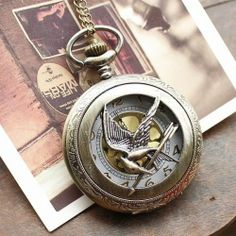 The Hunger Games Catching Fire Pocket Watch