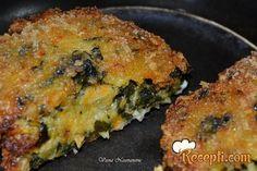 Recept za Vege ćufte sa sirom. Za spremanje ovog jela neophodno je pripremiti tikvice, šargarepu, krompir, luk, zelje, trapist, prezle, so, jaja, biber, maslinovo ulje.