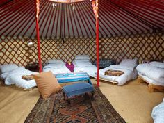 Fred's Yurts - Gallery