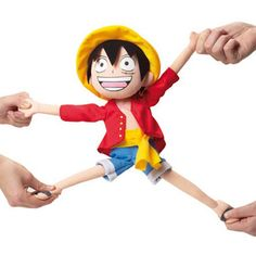 Have Luffy's Devil Fruit powers come to life in your hands as you pull, twist and stretch his limbs from their original size. This ridiculously silly One Piece plush makes fun way to relieve stress after even the worst of days.