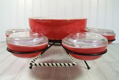 Pyrex Entertaining Set of Casserole Dishes in by DivineOrders, $170.00