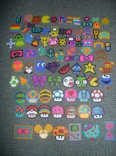 Perler bead collection by Dj_electro - Kandi Photos on Kandi Patterns