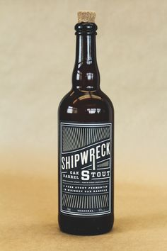 "The ""Shipwreck Oak Barrel Stout"" reflects the unique blend of flavours, textures, and tastes that are..."