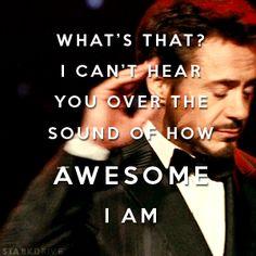 haha I love Robert Downey Jr. ;D