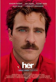 The Best Posters of 2013 - HER (Spike Jonze)