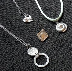 Pendants / Charms by Deirdre - Beginners Silver Clay Class