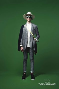 Undercover Spring 2016 Menswear Fashion Show: Complete Collection - Style.com