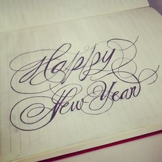 RMD Blog: Happy New Year hand lettering