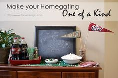 3 easy DIY projects to Make your Homegating One of a Kind. #crafts #DIY #PassThePepper http://2pawsdesigns.com/2015/01/make-homegating-one-kind.html