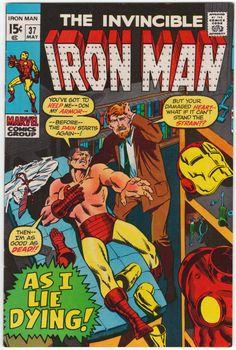 Iron Man #37 NM-, Marie Severin cover art. $41