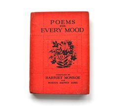 Delicious little old poetry book.