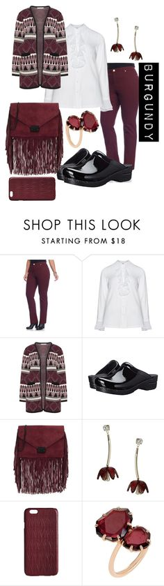 """plus size margaret"" by aleger-1 ❤ liked on Polyvore featuring New Directions, aprico, Studio, Dansko, Loeffler Randall, Miss Selfridge, Dagmar, Annoushka and plus size clothing"