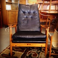 Milo Baughman Design Lounge Chair $895 #available
