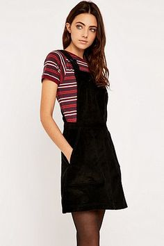 BDG Corduroy Pinafore Dress - Urban Outfitters