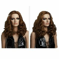 SureWells Cosplay Wigs Fashion Office Style Pear Head Curly Wigs Brown Medium Woman Wigs Lace Wig party wigs by SureWells. $25.19. *It's fit for your Parties,Cosplay & Daily Use.. * Easy to care for and Wash. Wash with normal shampoo in warm but not hot water. Shake off excessive water, wipe with a tower, and dry in air.. *100% Top Quality & Brand NEW. 100% Japanese Kanekalon (high quality one) made fiber wigs. *Hair Looks Shiny Natural and Touch Soft.. *The size...