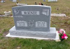 TOMBSTONE TUESDAY: MCKENZIE FAMILY REUNION AT BRILEY TOWNSHIP CEMETERY #genealogy