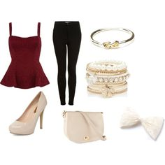 """Ariana Grande lunch with friends inspired outfit"" by priyakae on Polyvore"