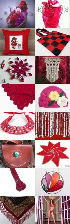 Autumn colors - Burgundy, red, raspberry by Albina Kapitonova on…