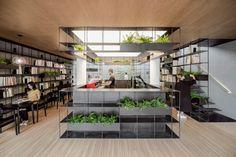 Archstudio · RONGBAOZHAI COFFEE BOOKSTORE