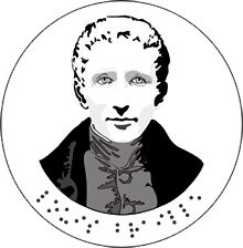Louis Braille - January is National Braille Literacy Month.