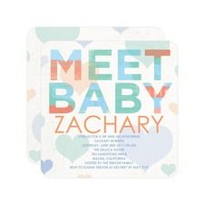 Love to Meet: Ocean Baby Shower Invitations