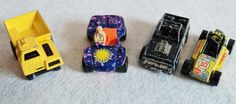 Vintage Toy Cars and Truck - Set of 4 @Tophatter