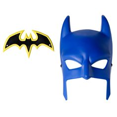 Batman Cowl and Batarang from  @whitcoulls - School holiday dress up fun @westfieldnz