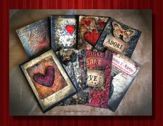 "Handmade ephemera cards by Jools Robertson: A Vintage Journey- ""A little bit of French"" Art Journal Pages, Art Pages, Art Journaling, Journal Cards, Junk Journal, Atc Cards, Card Tags, Paper Art, Paper Crafts"