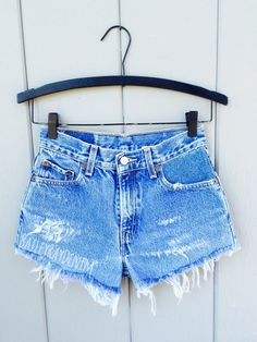 b3471ce2 Vintage Levis high waisted denim shorts uniquely styled by Bailey Ray  DESCRIPTION OF PRODUCT Levis jeans