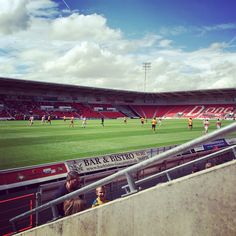 First football match at doncaster rovers