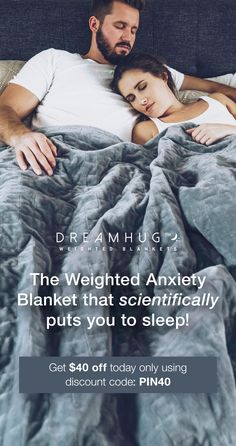 Better sleep with DeepTouch Tech The weighted blanket scientifically designed to improve your sleep and soothe away stress using deep touch technology Get 60 OFF with fre. Weighted Blanket, Angst, Reduce Stress, Looks Cool, My New Room, Stress And Anxiety, Good To Know, Health And Beauty, Cool Stuff