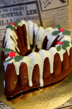 Christmas Is Coming, Christmas Baking, Cake Recipes, Pudding, Cupcakes, My Favorite Things, Cooking, Sweet, Desserts