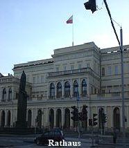 Warschauer Rathaus - Sehenswürdigkeit Louvre, Building, Travel, Warsaw, Poland, Destinations, Photo Illustration, Viajes, Buildings