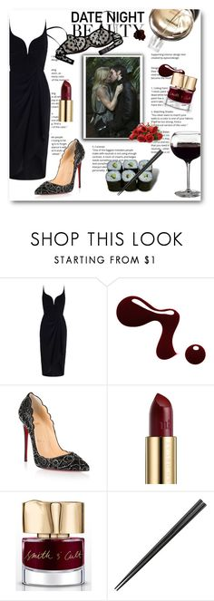 """""""Date Night"""" by tonituff ❤ liked on Polyvore featuring Jura, Zimmermann, Christian Louboutin, Urban Decay, Chanel and Smith & Cult"""