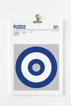 Clever minimalist posters of Star Wars characters in just three colours | Creative Boom