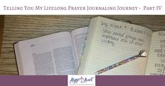 prayer journaling journey