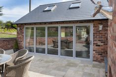 Replace your Conservatory Roof with a Solid Tiled Roof and transform your Conservatory into a comfortable living space. Now available throughout Hampshire. Glass Extension, Roof Extension, Cottage Extension, Extension Ideas, Garden Room Extensions, House Extensions, Cottages Uk, Contemporary Garden Rooms, Conservatory Roof