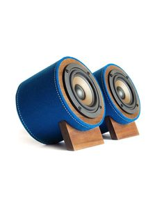 Well Rounded Sound - Yorkie SE Speakers | I like the stitching on them