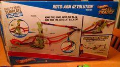 HOT WHEELS Race Wall Tracks Roto Arm Revolution Track Set EUC in Toys & Hobbies, Diecast & Toy Vehicles, Play Sets | eBay