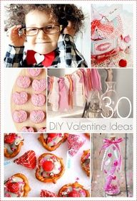 30 Handmade Valentine Crafts and Ideas...these are great, love the message in a bottle!