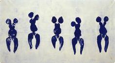 Yves Klein Archives Faire l'artistique - spectacle  Met en scène , utilise corps de la femme comme pinceau . Espace : son appartement: spectacle en costume  empreinte de la femme = humanité