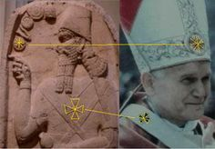 Babylonian Nimrod = Pope of the End Time