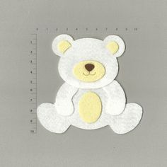 открытка медвежонок из фетра работает