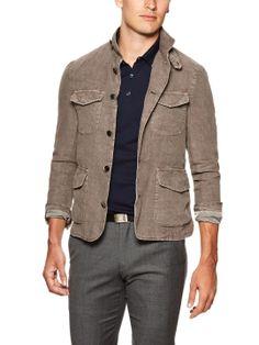 Linen Jacket by Luca Roda