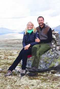Prince Haakon and Princess Mette-Marit of Norway.