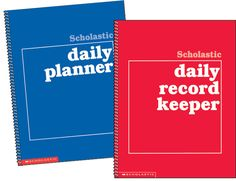 Stay on track all year long with daily planning forms for every week of the school year! Find these organizers in the Classroom Essentials Catalogue: OPUS 1730573 Page 25 See the pages here: http://www.scholastic.ca/clubs/cec/