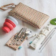 Kit Refeição Lixo Zero - Canudo Inox Misto – B.live Reduce Reuse Recycle, Natural Cosmetics, Save The Planet, Go Green, Sustainable Living, Zero Waste, Eco Friendly, Recycling, Handmade